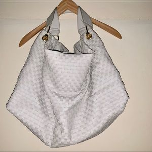 DEUX LUX large basket weave shoulder bag😍